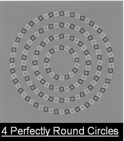 four concentric circles